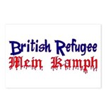 British Refugee Postcards (Package of 8)