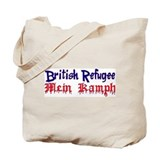 British Refugee Tote Bag