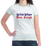 British Refugee Jr. Ringer T-Shirt