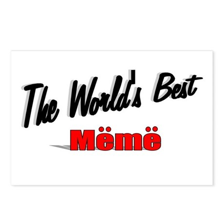 """The World's Best Meme"" Postcards (Package of 8)"
