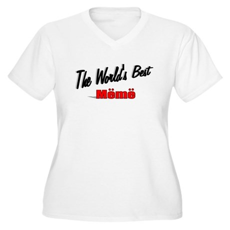 """The World's Best Meme"" Women's Plus Size V-Neck T"