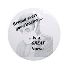Great Nurse Ornament (Round)