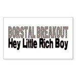 BORSTAL BREAKOUT Rectangle Sticker