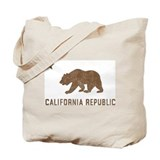 Vintage California Republic Tote Bag