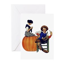 PETER PETER PUMPKIN EATER Greeting Cards (Pk of 10