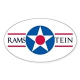 Ramstein Air Base Oval Decal