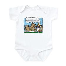 Herding Corgi Cartoon Infant Bodysuit