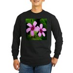 Violet Sorrels Long Sleeve Dark T-Shirt