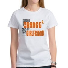 I Wear Orange For My Girlfriend 6 Tee