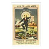 French Absinthe Prohibition Postcards (Package of