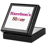Harrison's Sister Keepsake Box