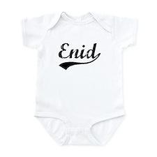 Vintage Enid (Black) Infant Bodysuit
