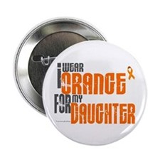 "I Wear Orange For My Daughter 6 2.25"" Button"