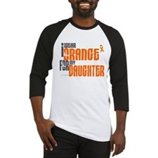 I Wear Orange For My Daughter 6 Baseball Jersey