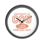 Property Of CCU Nurse Wall Clock
