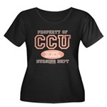 Property Of CCU Nurse Women's Plus Size Scoop Neck
