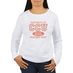 Property Of CCU Nurse Women's Long Sleeve T-Shirt
