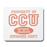 Property Of CCU Nurse Mousepad