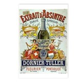 Absinthe Dornier-Tuller Postcards (Package of 8)