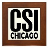 CSI Chicago Framed Tile