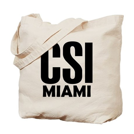 CSI Miami Tote Bag