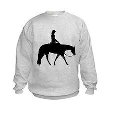 Western silhouette female Sweatshirt