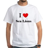 I Love Sea Lions Shirt
