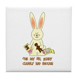 Easter Irony Tile Coaster