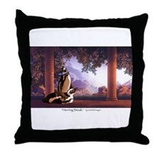 """Herring Break"" Throw Pillow"