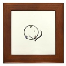 Candaa Circle of Love Framed Tile