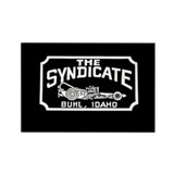 The Syndicate Rectangle Magnet
