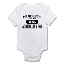 Property of an Australian Boy Infant Bodysuit