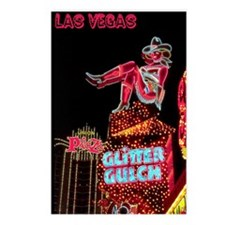Las Vegas Nightlife Postcards (Package of 8)
