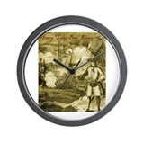 Henry Every (Avery) Wall Clock