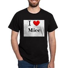I Love Mice T-Shirt