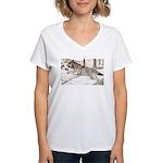 Outcome Women's V-Neck T-Shirt