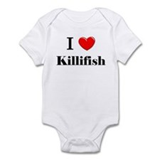 I Love Killifish Infant Bodysuit