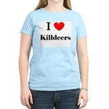 I Love Killdeers T-Shirt