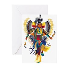 Native Dancer Greeting Cards (Pk of 10)