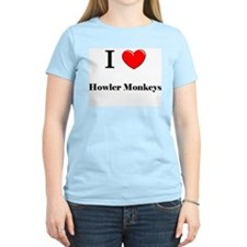 I Love Howler Monkeys T-Shirt