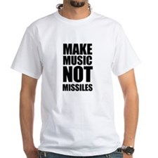 Make Music Not Missiles Shirt