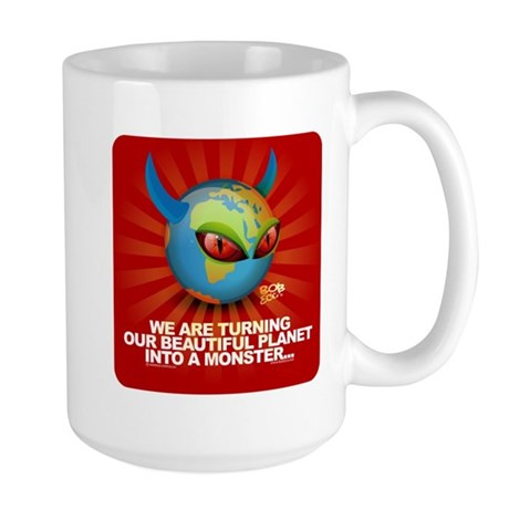 Planet Earth is turning into Large Mug