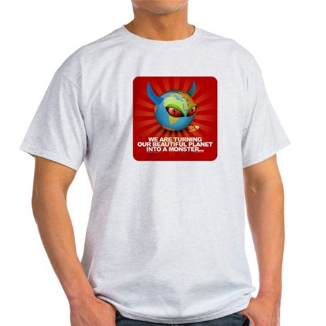 Planet Earth is turning into Light T-Shirt