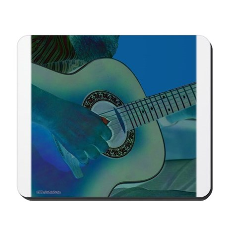 Acoustic Riffs Mousepad