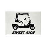 Sweet Ride Rectangle Magnet