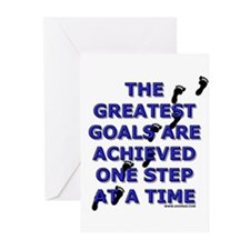 One Step at a Time Greeting Cards (Pk of 10)