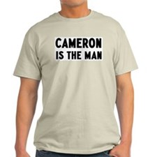 Cameron is the man T-Shirt