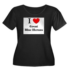 I Love Great Blue Herons T
