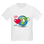 I Love Mother Earth. I love R Kids Light T-Shirt
