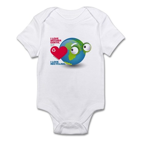 I Love Mother Earth. I love R Infant Bodysuit